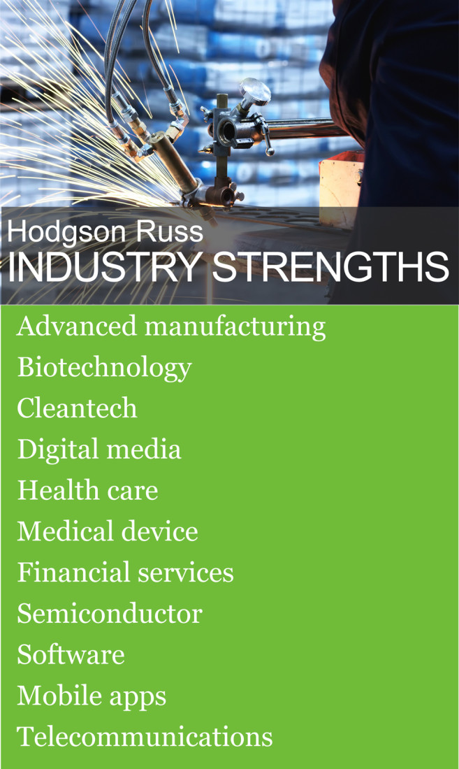 Hodgson Russ Industry Strengths