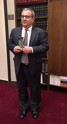 John Amershadian accepts NYSBA Award on firm's behalf