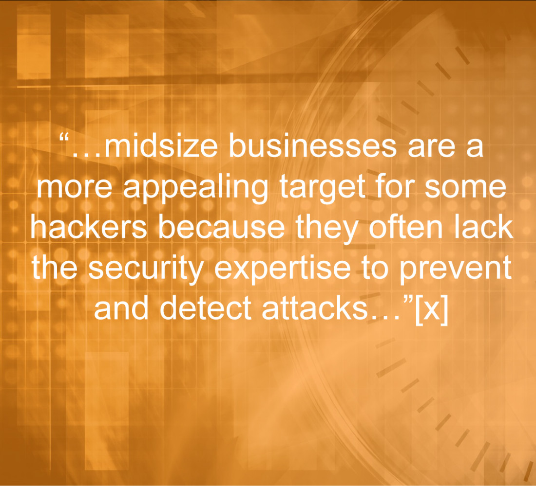 Midsize companies more susceptible to hackers